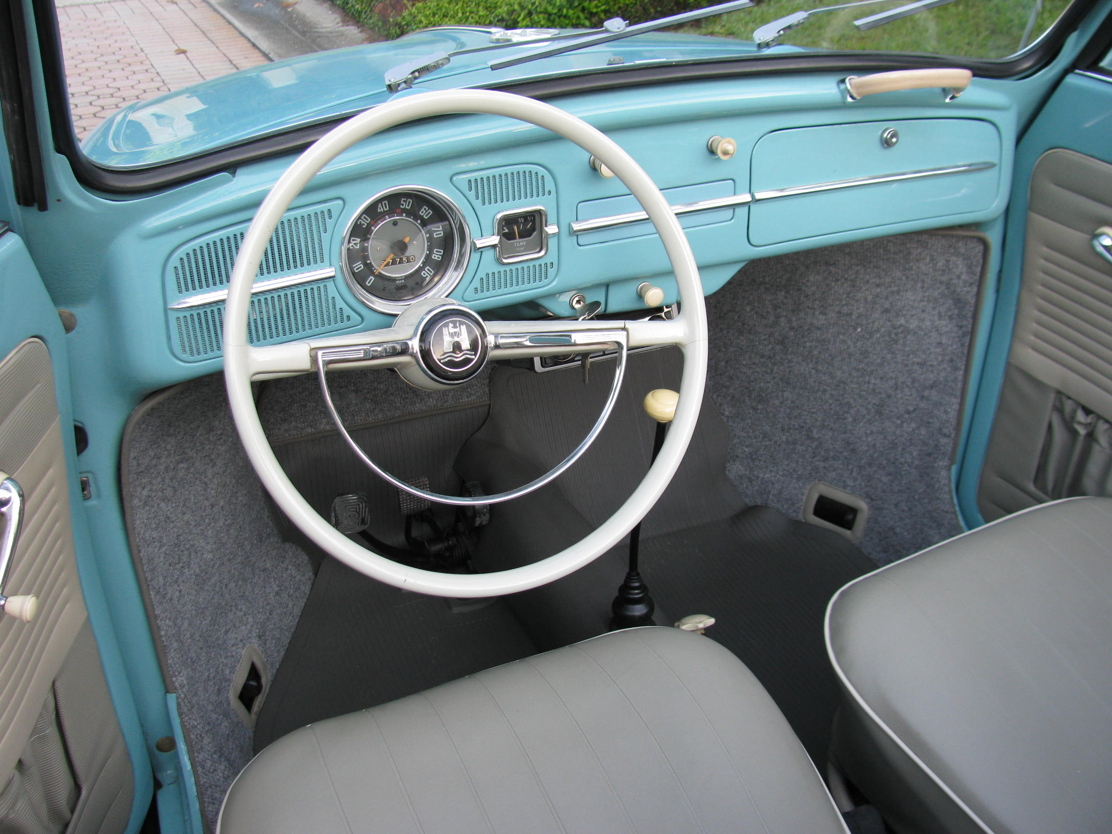 1963 Volkswagen Beetle Convertible Sold Vantage Sports Cars 1960 Interior