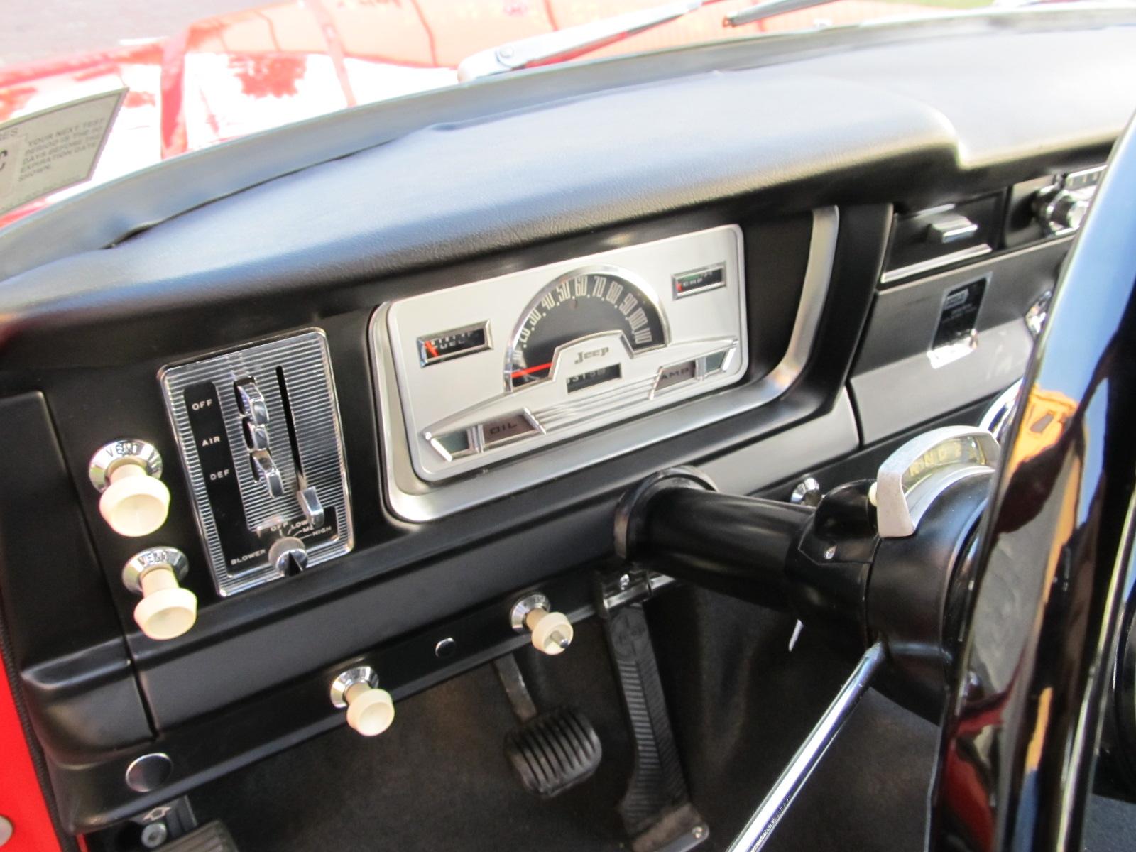 Build A Jeep >> 1968 Jeep Wagoneer - SOLD! - Vantage Sports Cars | Vantage ...