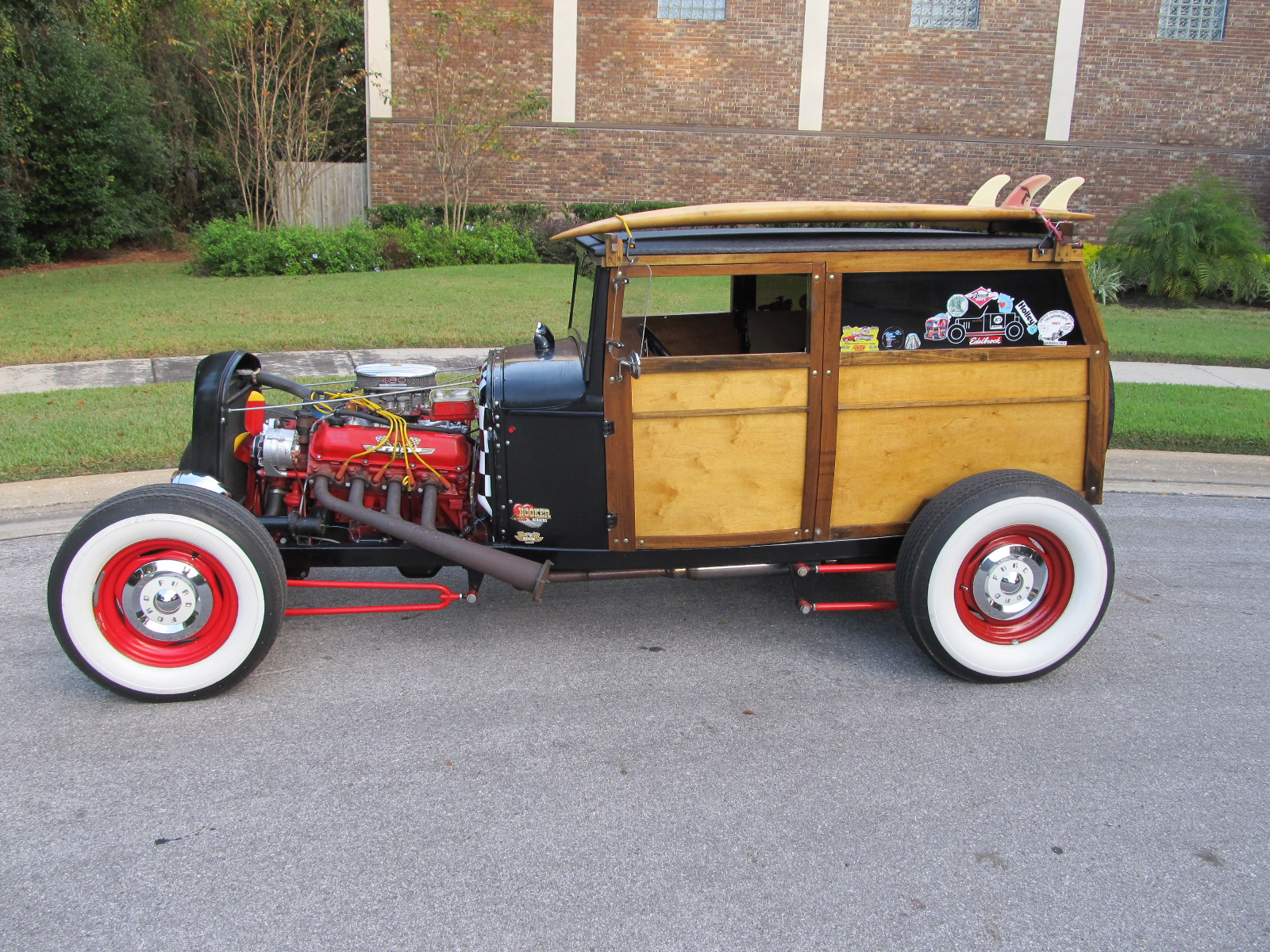 1931 Model A Ford Woody 2 Door Delivery Hotrod  U2013 Sold