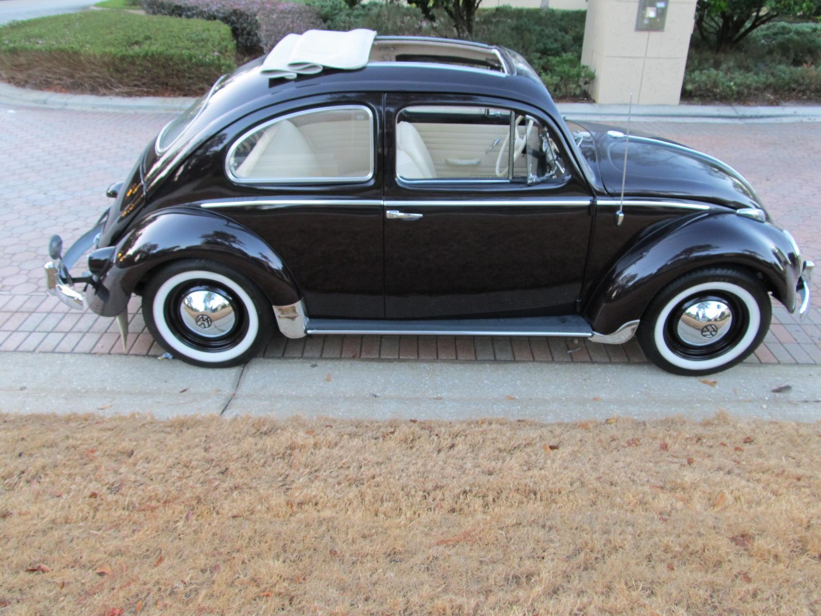 1958 Volkswagen Beetle Ragtop SOLD Vantage Sports